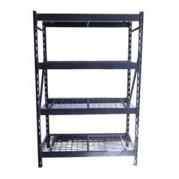 Industrial Warehouse Storage Metal Long Span Medium Duty Shelving with Plastic Bin