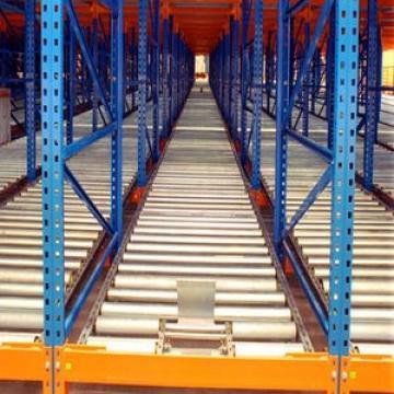 Warehouse Industrial Storage Steel Pallet Carton Gravity Flow Rack with Rollers