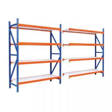 Used Industrial Rivet Shelving Warehouse Shelving Boltless Shelving Wood Shelf Ebay