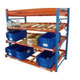 Warehouse Storage Heavy Duty Steel Roller Flow Gravity Rack