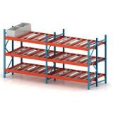 Adjustable Warehouse Heavy Duty Gravity Roller Racking